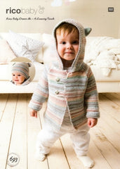 Rico Baby Dream DK - A Luxury Touch Pattern 693 - Jacket & Hat
