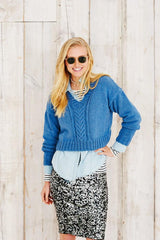 Stylecraft Jeanie Denim Look Pattern 9494 - Sweaters