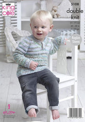 King Cole Comfort Kids DK & Comfort DK Pattern 5108 - Sweaters