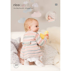Rico Baby Dream DK - A Luxury Touch Pattern 517 - Coat & Beret