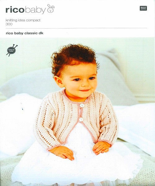 Rico Baby Classic Double Knitting Pattern 300