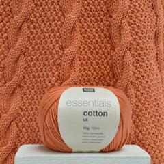 Rico Essentials Cotton DK Pattern 226 - Scoop & V Neck Sweaters with Lacy Backs