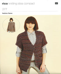 Rico Fashion Flame Knitting Pattern 277