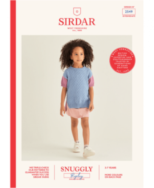 Sirdar Snuggly Replay DK Pattern 2549 - Tunic