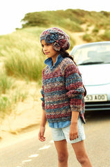 Stylecraft Carnival Chunky Pattern 9190 - Sweater, Snood & Hat