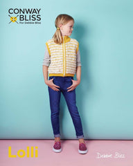 Conway + Bliss Lolli Pattern CB019 - Zip Up Gilet - WAS €4.50 - NOW €2.50
