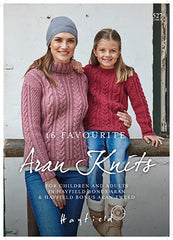 Hayfield 16 Favourite Aran Knits Book 527