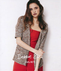 Debbie Bliss Juliet Pattern DB023 - Longline Jacket - WAS 4.50 - NOW 2.50