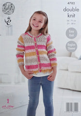 King Cole Splash DK Pattern 4782 - Cardigans