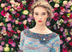 Louisa Harding Noema Pattern - L7- 01 Periwinkle - WAS €4.50 - NOW €2.50