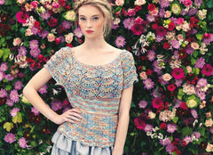 Louisa Harding Noema Pattern - L7- 02 Camomile Top - WAS €4.50 - NOW €2.50