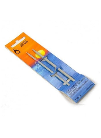 Pony Cable Stitch Knitting Needles Set Of 2 - For Sizes 2-5mm (Item #60608)
