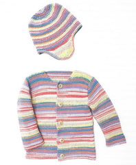 Rico Baby Dream DK - A Luxury Touch Pattern 690 - Jacket & Hat