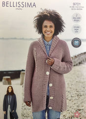 Stylecraft Bellissima Chunky Pattern 9701 -  Jacket & Cardigan