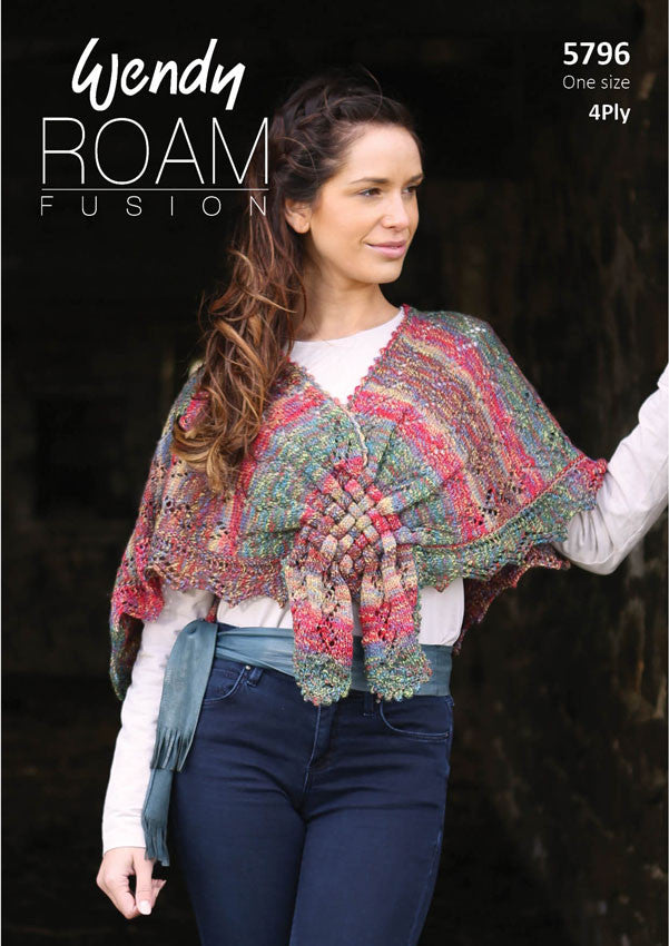 Wendy Roam Fusion Knitting Pattern 5796