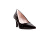 Lodi Black Low Heel