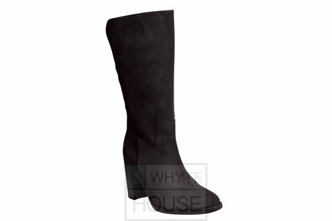 Pepe Castell Charcoal Grey Mid Calf Boot