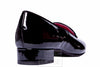 Le Babe - Black Patent Flat Shoes