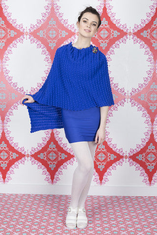 Royal Blue Cape