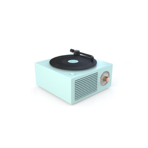 (1 Pack) Retro Bluetooth Record Player