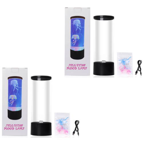 2 Pack- Jellyfish Mood Lamp