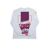 Crepe City Exploration Long Sleeve White