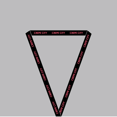 Crepe City X Basement Lanyard