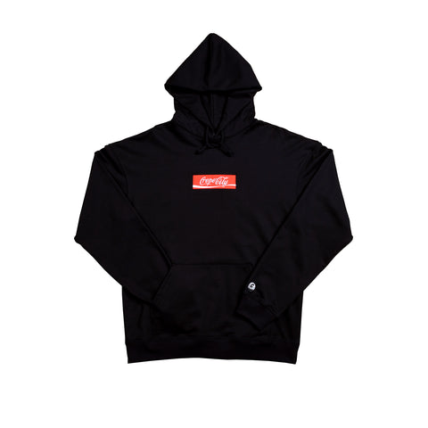 "*SALE* Crepe City ""COKE Hoodie"" - Black"