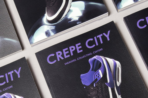 CREPE CITY Magazine Issue 002 | BW