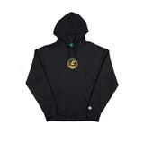 *SALE* CREPE CITY: Medallion Hood - Black