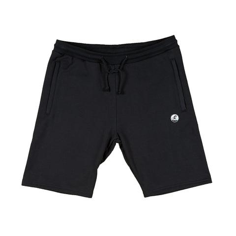 CREPE CITY: Shorts - Black