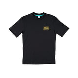 CREPE CITY: Medallion Tee - Black