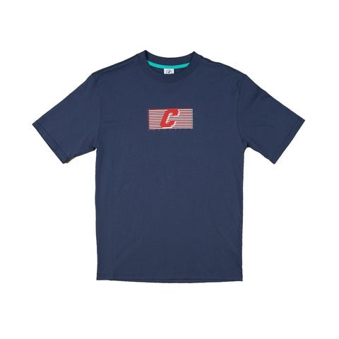 CREPE CITY: Crew Tee - Navy
