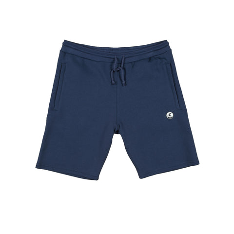CREPE CITY: Shorts - Navy