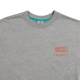 Medallion Tee - Marl Grey