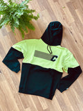 *CLEARANCE* Crepe City Black/Volt Split Hoodie