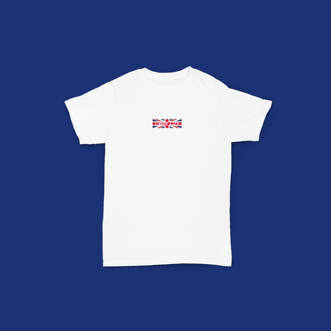 CC: Union Jack Tee (White)