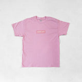 Crepe City Summer Collection - Pink Box Logo T Shirt