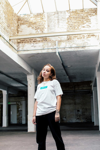 Crepe City White Box Logo Tee