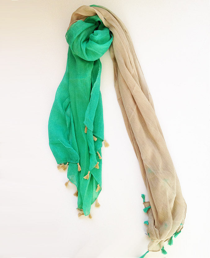 Mint Green Ombre Tassel