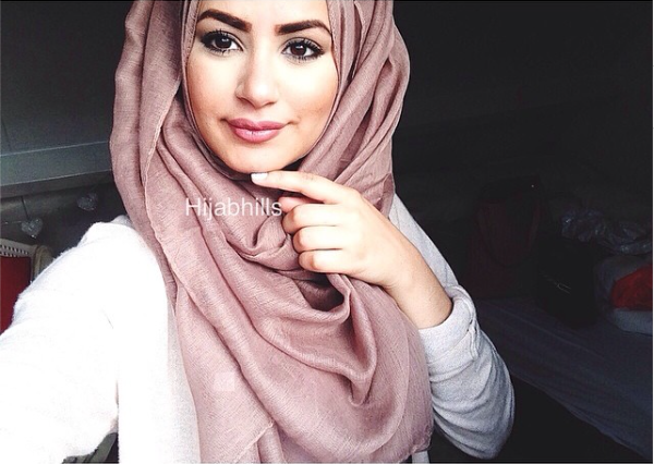 Light Mocha Plain Hijab