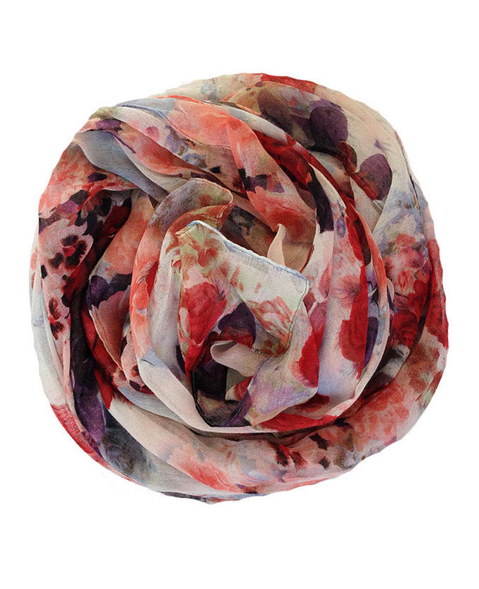 Beautiful Floral Print Hijab | Best headscarves online