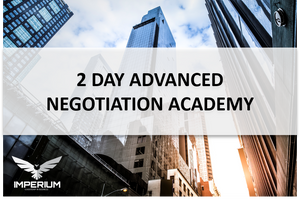 Advanced Business Negotiation Academy - Central London, 9 - 10 March 2020