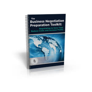 Business Negotiation Preparation Toolkit