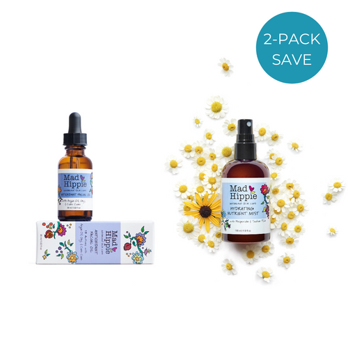2-Pack: Mad Hippie Facial Oil + Hydrating Nutrient Mist