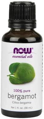 Now Foods, Essential Oils, Bergamot, 1 fl oz (30 ml)
