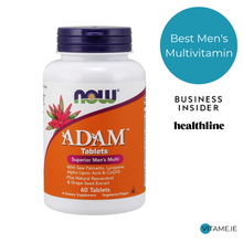 Load image into Gallery viewer, Now Foods, ADAM™ Men's Multiple Vitamin Tablets, 60 tablets