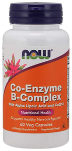Now Foods, Co-Enzyme B-Complex, 60 Veggie Caps
