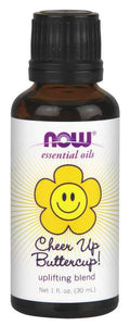 Now Foods, Essential Oils, Uplifting Blend, Cheer Up Buttercup!, 1 fl oz (30 ml)