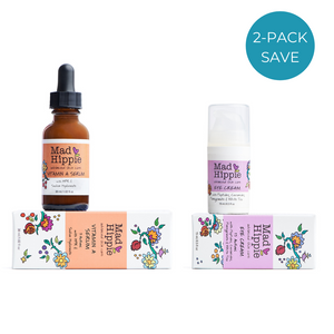 2-Pack: Mad Hippie Vitamin A Serum + Eye Cream